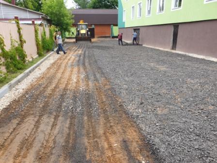 Укладка асфальтовой крошки в Щелково
