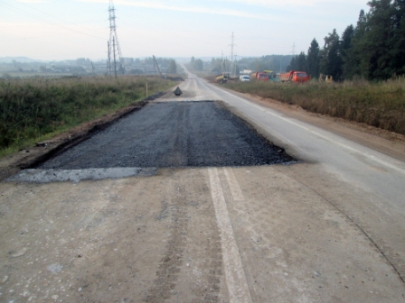 Ямочный ремонт дорог в Щелково