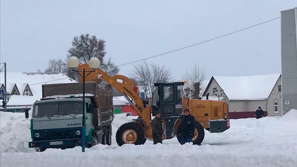 Очистка от снега в Щелково